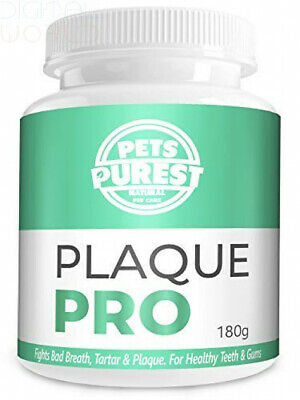 Pets Purest 100% Natural Plaque Off, Remover & Tartar For 180g