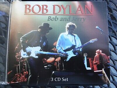 Bob Dylan Bob And Jerry Washington DC 1995 San Francisco 1980 3 CDs-BRAND NEW