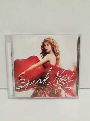Taylor Swift Speak Now CD/DVD Target Exclusive Deluxe Edition RARE Out Of Print