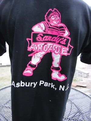 Asbury Park New Jersey Distressed Logo Shirt Pick Size SMALL 6XL Color S//S L//S