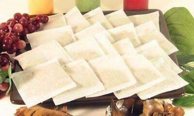 "100 pcs Empty Larger Teabags Heat Seal Filter Paper Herb Loose 2"" x 3' Tea Bags"