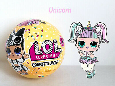 Lol Surprise Confetti Pop 🎊unicorn🎊 Doll Series 3 Wave 2 Ball Mga Official