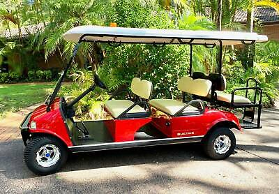 Golf Cart New Ford California 6 seat Rent-Buy $60wk ABN Holders