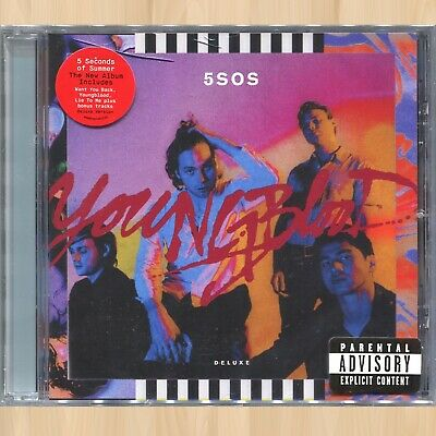 +3 BONUS TRACKS---> 5 SECONDS OF SUMMER Youngblood 5SOS Deluxe CD Meet You There