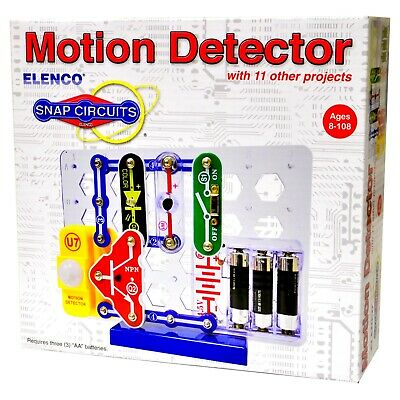 ELENCO SNAP CIRCUITS SCP-03 MOTION DETECTOR  New in Box s-8