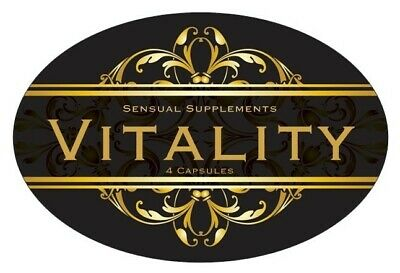 Vitality Male Sexual Enhancement Natural Strong Erection Pills
