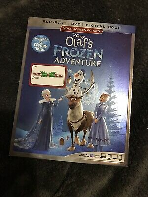 Disney Olaf's Frozen Adventure (Blu Ray + DVD, 2018)