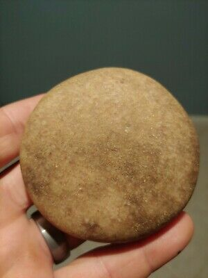 Native American Artifact Authentic Game Stone