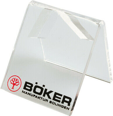 Boker Single Knife Clear Plastic Display Stand 99909