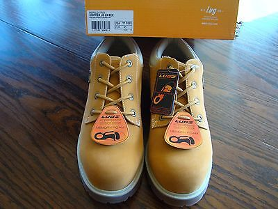 158d10bfcfb0 Lugz Mens Drifter Lo Lx Oxford Golden Wheat  Cream  Gum Size 11 Xtra Wide