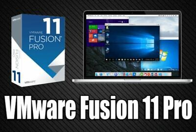 Vmware Fusion (Pro) 11 // Mac // Universal Lifetime License Keys Fast-Delivery