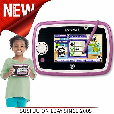 Sprung Frosch Leappad 3 Pink │ Kinder Tablet mit Wi-Fi, 4gb Memory & 10 Apps
