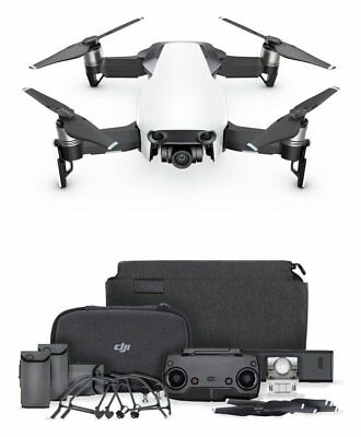 DJI Mavic Air Fly More 12MP and 4K UHD Video Drone Combo - Artic White.