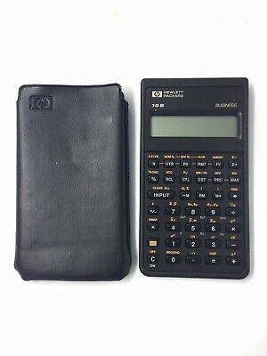 Hewlett Packard HP 10B Business Financial Scientific Calculator with cover