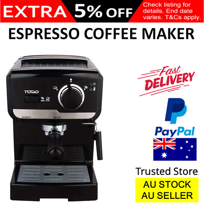 Espresso Coffee Machine Maker High Pressure Italian Frothing Arm Benchtop Office