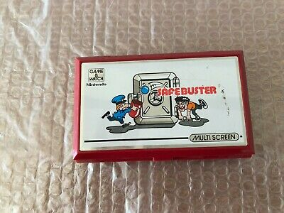 safebuster nintendo game e watch tested 1988