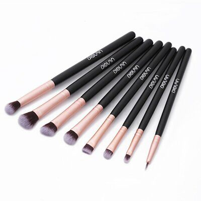 DIOLAN 8pcs Pro Eye Shadow Concealer Makeup Brushes Cosmetics Eyeliner Brush Set