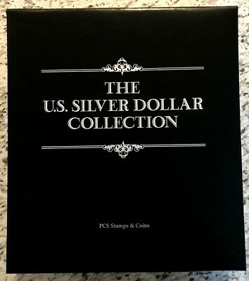 US Silver Dollar & Stamp Collector Set - All 38 Morgan & Peace Dates Included!