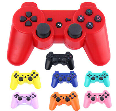 Wireless Dualshock Bluetooth Controller Gamepad Joystick For PS3 Playstation 3