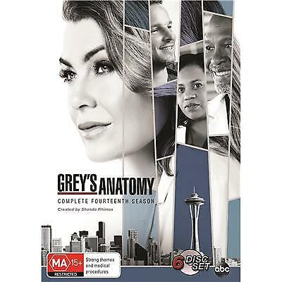 Greys Anatomy Season 14 Dvd, New & Sealed, 2018 Release, Free Post.