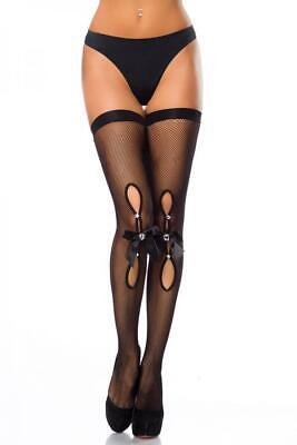 VARIOUS Netz-Stockings (13870-002)