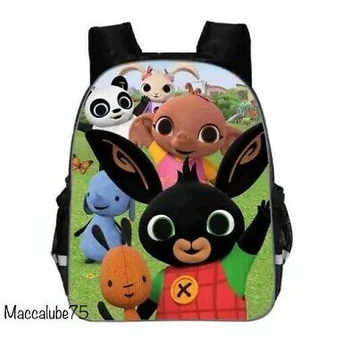 BING ZAINO Bing Bunny, Coniglio, Zainetto, Asilo, backpack, Bag, School,Giochi