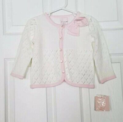09d9629ea434 JACADI BABY GIRLS Cardigan In Pink In Size 18 Months -  14.50