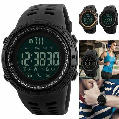 SKMEI Fashion Mens Smart Watches Bluetooth Digital Sports Wrist Watch KL