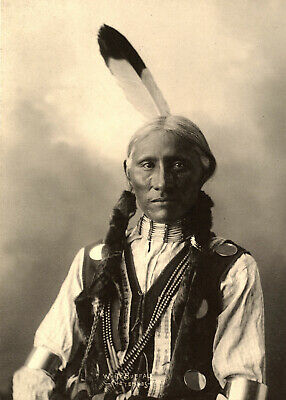 1898-White Buffalo-Northern Cheyenne Chief who received the rank of sergeant in