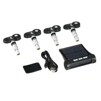 Wireless Solar Car TPMS Tire Pressure Monitoring System with 4 Internal A5T0
