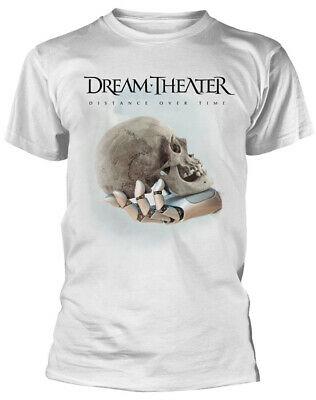 Dream Theater 'Distance Over Time (Cover)' (White) T-Shirt - NEW & OFFICIAL!