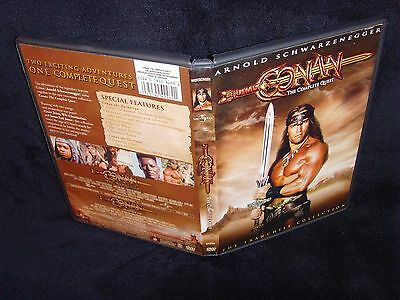 Conan: The Complete Quest (DVD, 2004) Mint Disc!•Real USA Made!•No Scratches!