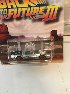 Hot Wheels Retro Entertainment, Back To The Future Iii, Old West Delorean 2019🙂