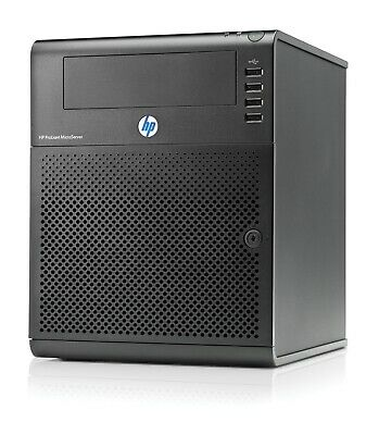 HP ProLiant N40L MicroServer with 8GB ECC RAM and Extras