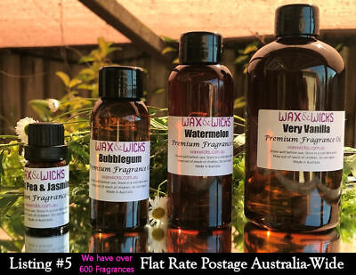 Fragrance Oils (201-250) for Candles, Soaps, Melts, Lotions, Incense, Potpourri