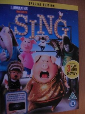 Sing Special edition DVD