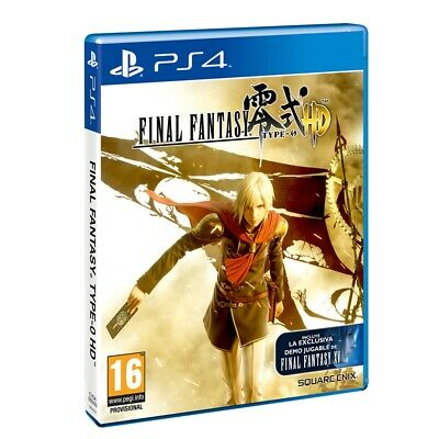 Juego Ps4 Final Fantasy Type-0 Hd Ps4 4520119
