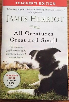 All Creatures Great and Small by James Herroit (2014 Paperback) Teacher Edition
