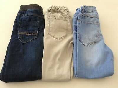 M+S Next Boys Small Bundle Of Jeans 7-8Yrs