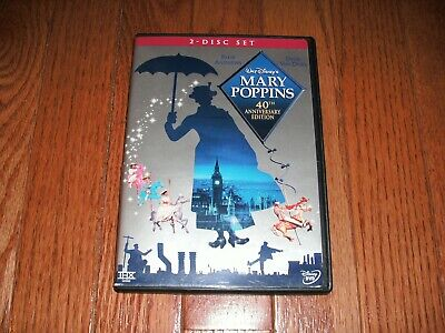 Walt Disney's Mary Poppins on DVD. Sequel Mary Poppins Returns in theatres now!