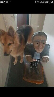 Butler Statue waiter without tray northampton gsd dog not included 1 metre tall