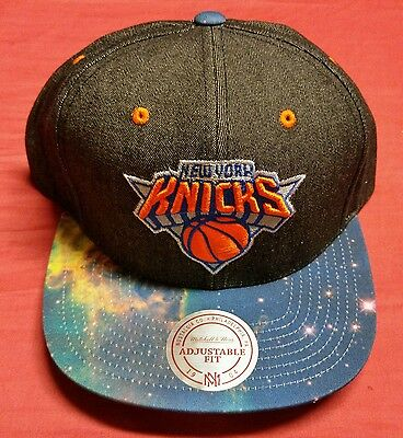b12e397ad6a Mitchell   Ness New York Ny Knicks Nba Basketball Adjustable Fit Snapback  Hat