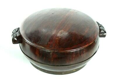 Antique Chinese Lidded Wooden Container - FREE Shipping [PL4984]