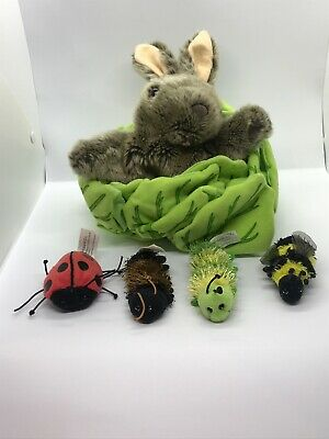 The Puppet Co - Rabbit In Lettuce