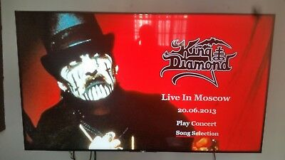 King Diamond Live in Moscow 20-6-2013 DVD