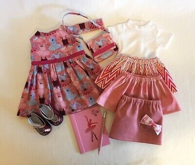 """Lot of 10 Doll Clothes fit 18"""" American Girl Doll Ballet Doll Ballerina Dance"""