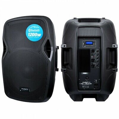 """KAM RZ15ABT 15"""" Active Speaker with Bluetooth (Each)"""