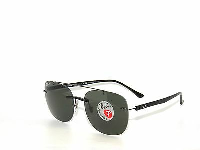 4e8c8be3e88 RAY BAN SunglaSSeS 4280 BLACK  GREEN POLARIZED 601 9A Rayban  LightRay