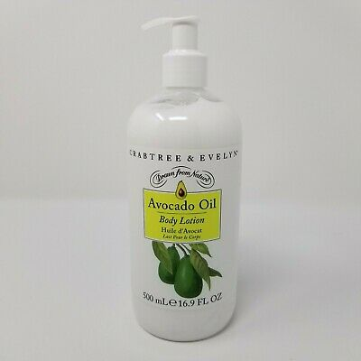 Crabtree & Evelyn Avocado Oil Body Lotion 500 Ml / 16.9 Oz