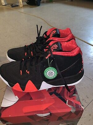004d0c9c27e Nike Kyrie 4 41 for the Ages Mens 943806-005 Black Red Basketball Shoes Size